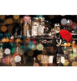 MondiArt Schilderij glas Romance 80x120cm