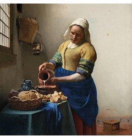 MondiArt Dibond schilderij  Melkmeisje  100x100cm