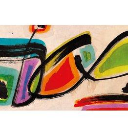 MondiArt Dibond Malerei Modern3 180x120cm