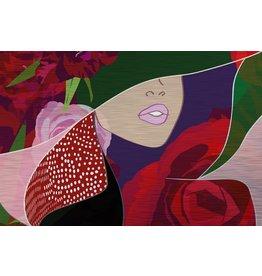 MondiArt Dibond Malerei Trick 80x120cm