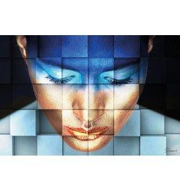 MondiArt Aluminium schilderij  Blocks   80x120cm