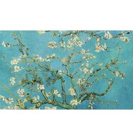 Dibond painting Almond blossom 118x70cm
