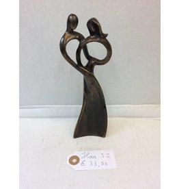 Eliassen Bronzefigur Torque Ring klein