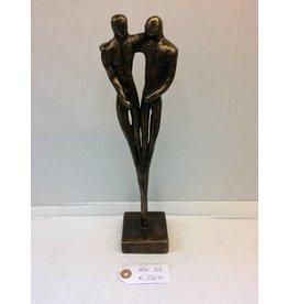 Eliassen Bronzen beeld Mannenliefde