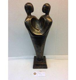 Eliassen Bronze statue Couple Heart