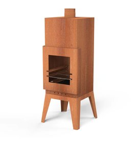 Adezz Producten Garden fireplace Bardi square Burni Adezz