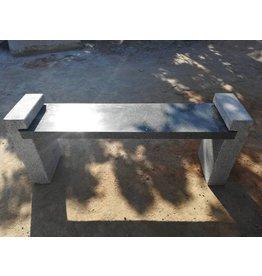 Eliassen Garden bench granite Alex