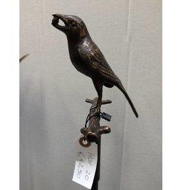 Eliassen Garden plug Bird with berry