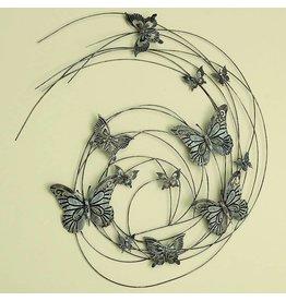 Eliassen Wanddekoration 3D Schmetterling 98cm