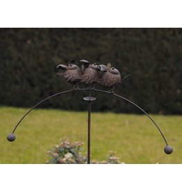 Eliassen Gartenstock Balance 3 Vögel