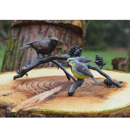 Eliassen Bronze Vögel auf Ast