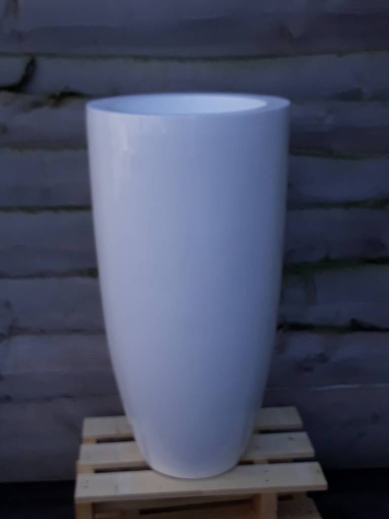 Eliassen Hoge vaas  Tosk 90cm  Hoogglans in 4 kleuren