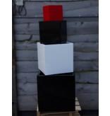 Eliassen Blumenkasten quadratisch Karz 40x40x40cm Hochglanz in 3 Farben