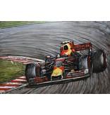 Eliassen Schilderij 3d Metaal Formule 1 Red Bull 80x120cm