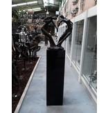 Eliassen Sockel hochglanz Urta in weiß oder schwarz 100cm