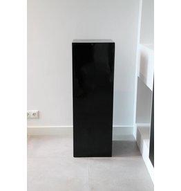 Eliassen Zuil  hoogglans Urta zwart 100cm