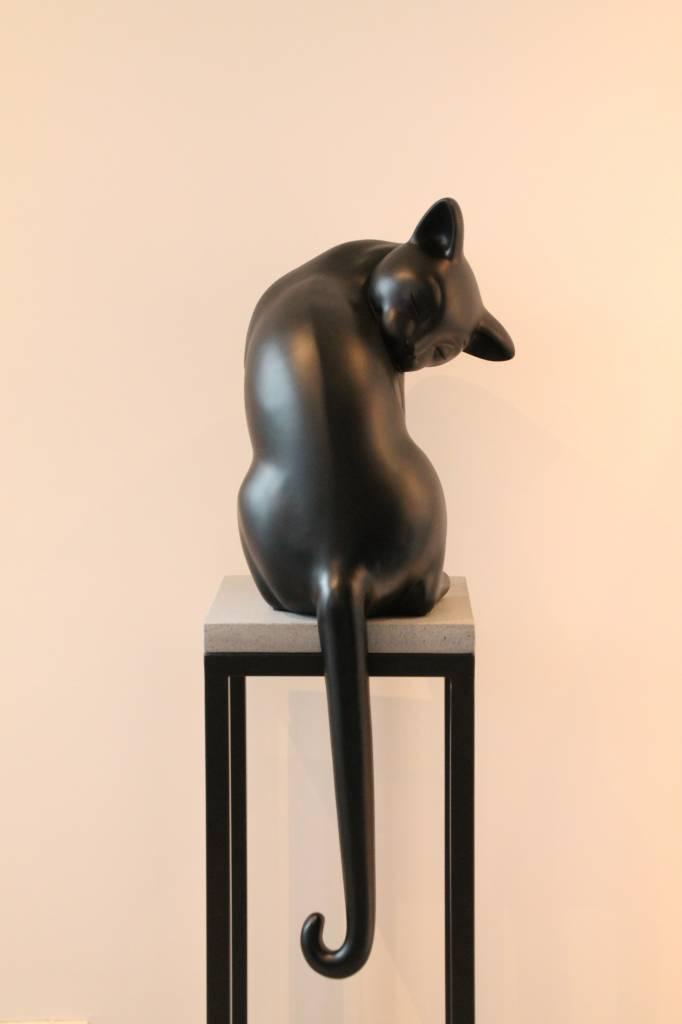 Eliassen Katze satiniert schwarz oder grau