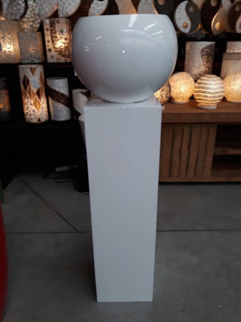 Eliassen Pot-zuil combinatie Medium in wit of zwart