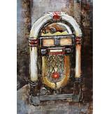 Eliassen 3d Malerei Metall Jukebox