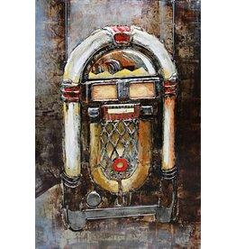 Eliassen 3d painting metal Jukebox