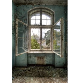 MondiArt Gemälde von Glas Tschernobyl 80x120cm