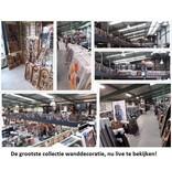 Eliassen Schilderij hout 3d  64x64cm Hope