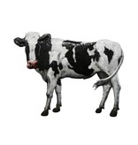 Eliassen Wanddekoration 3D Kuh