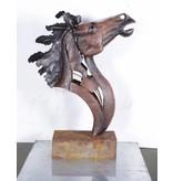Eliassen Figur Pferd Kopf hoch