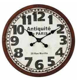 Eliassen Wall clock large Antiquite