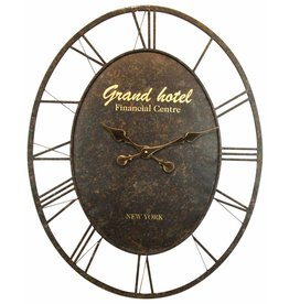 Eliassen Wanduhr oval groß Grand Hotel