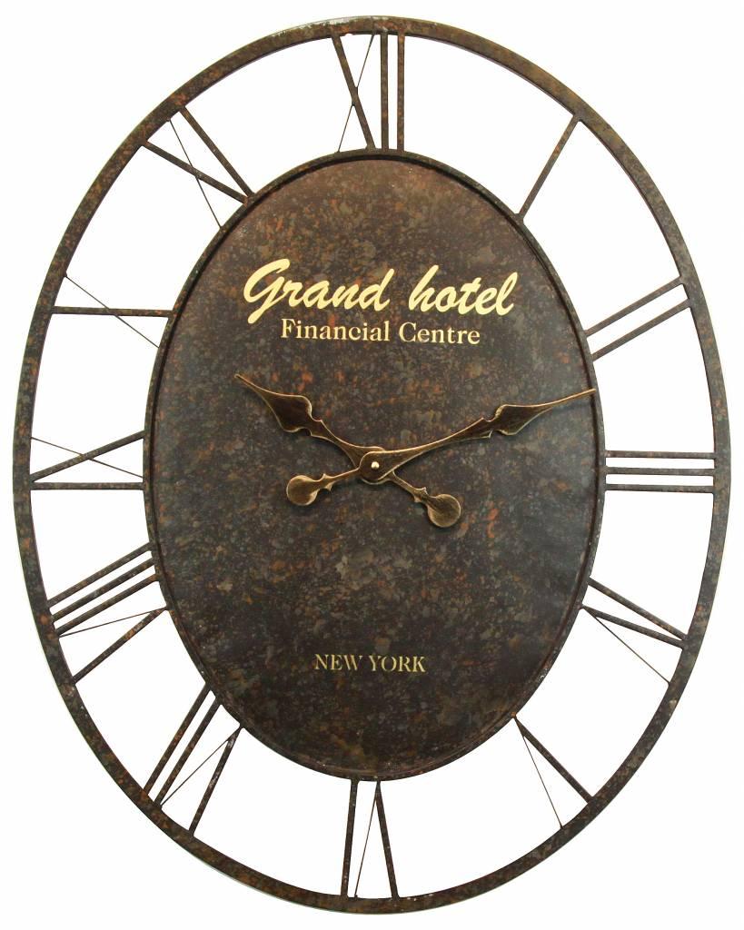Eliassen Wanduhr oval Grand Hotel