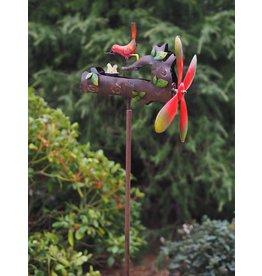 Eliassen Windmolen Voederende vogel