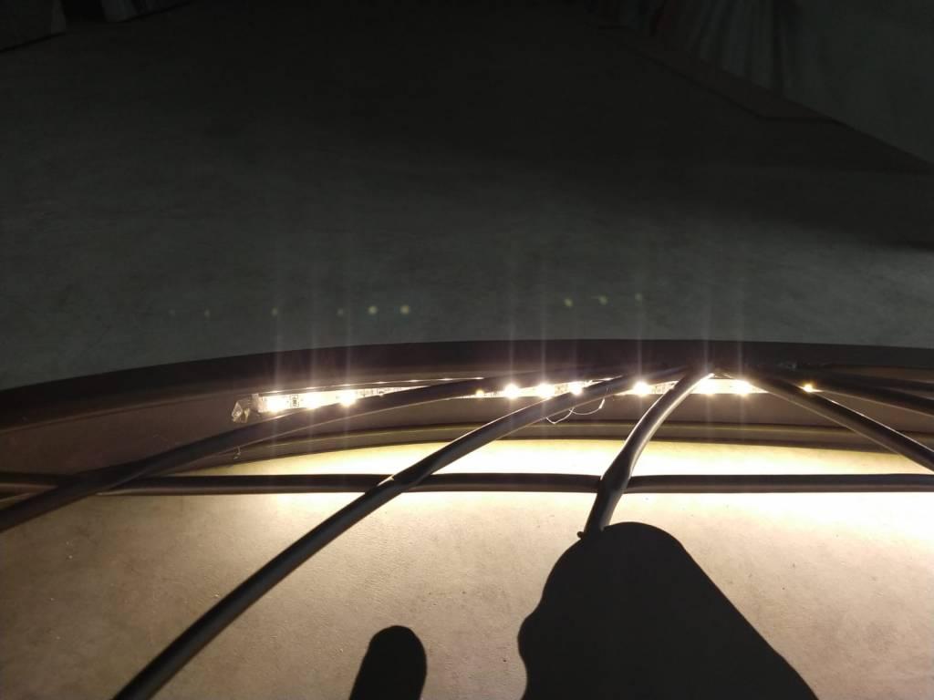 Eliassen Wand decoratie Globe met led verlichting