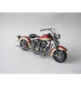 Eliassen Miniaturmodell kann Motor rot-weiß