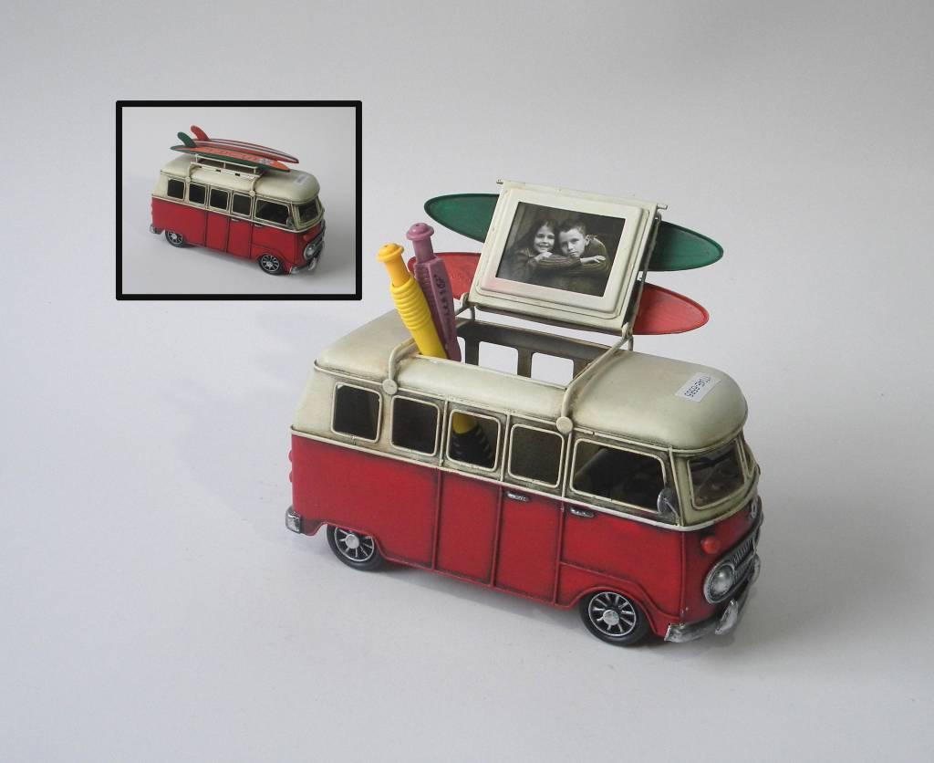 Eliassen Miniatuurmodel blik Busje met openend dak