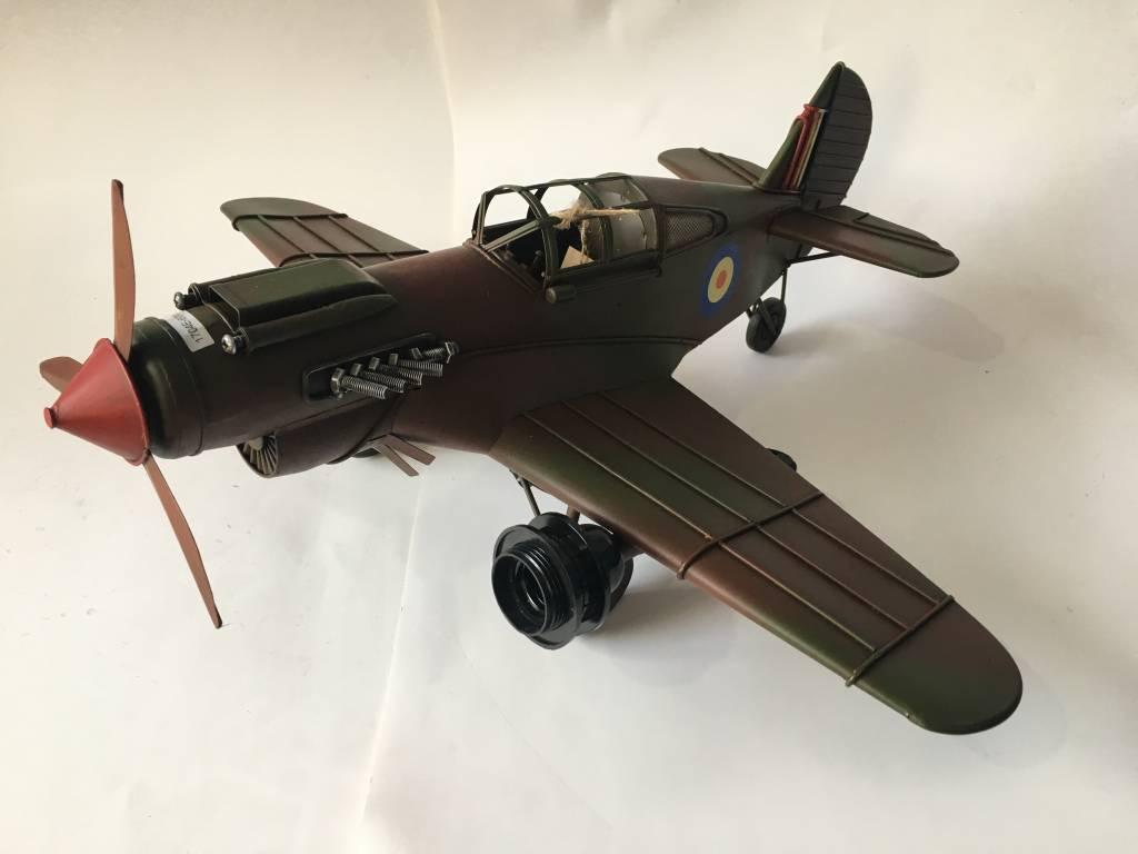 Miniatuurmodel Vliegtuig Spitfire
