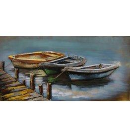 Eliassen Metal 3d painting Row Boats