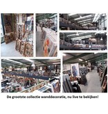 Eliassen Schilderij metaal 3d 80x120cm Dansers