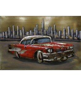 Eliassen 3D schilderij 90x60cm Cadillac
