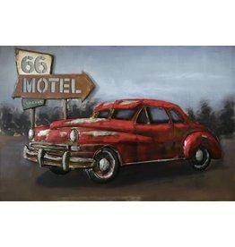Eliassen 3D schilderij 90x60cm Buick
