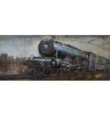 Eliassen 3D schilderij 56x180cm Stoomloc