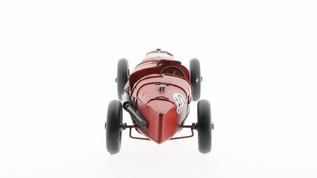 Eliassen Miniatuurmodel blik Sportauto rood