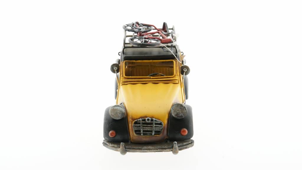 Eliassen Miniatur-Modell Zinn Citroen Ente 2CV