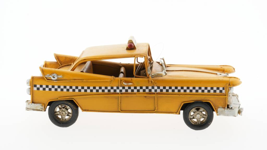 Eliassen Miniatuurmodel blik Amerikaanse taxi