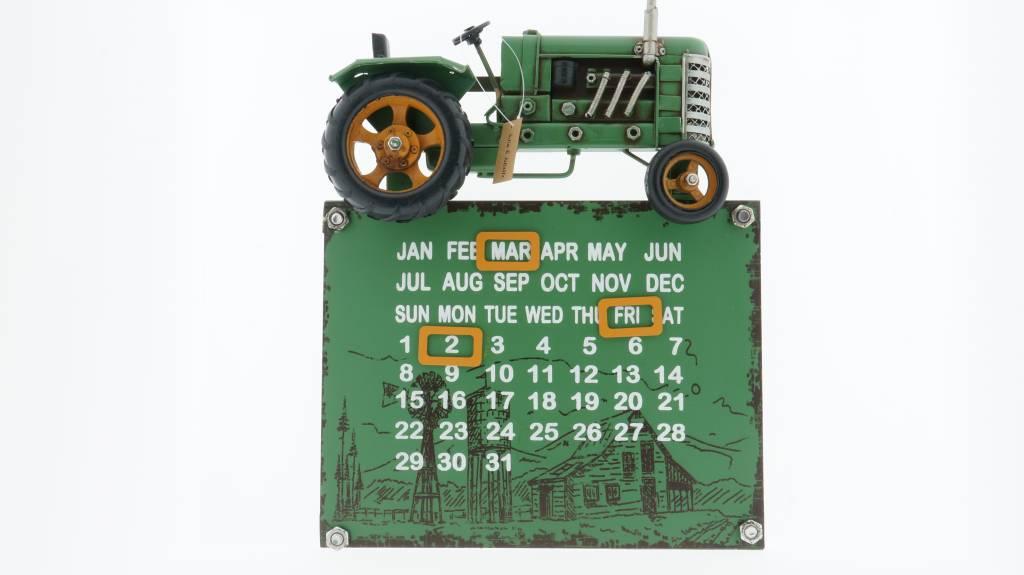 Eliassen Traktor Kalender grün