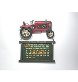 Eliassen Traktor calendar red