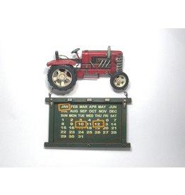 Eliassen Traktor kalender rood