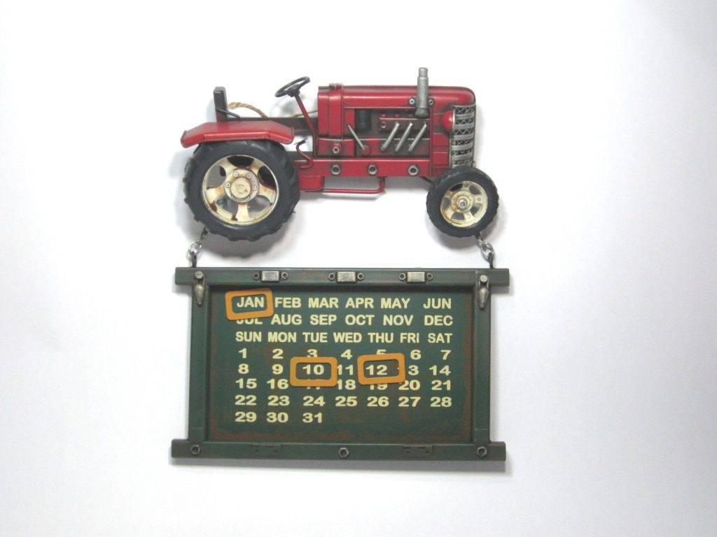 Eliassen Traktor Kalender rot