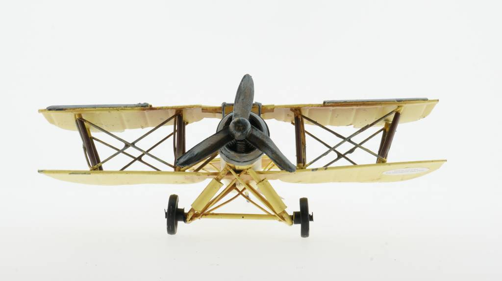 Eliassen Miniatur-Modellflugzeug Doppeldecker
