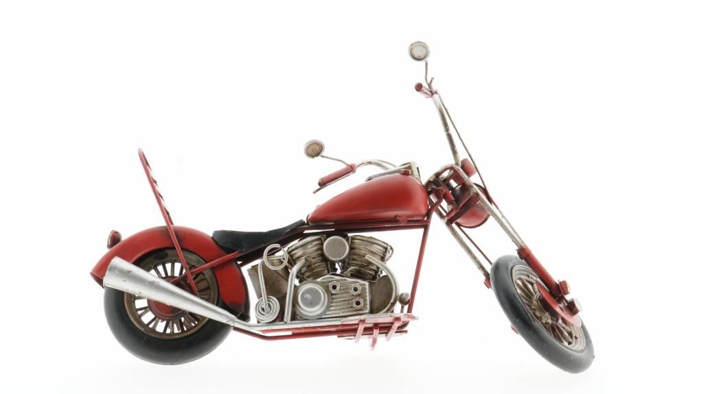 Eliassen Miniatur-Modell kann Harley Motor rot